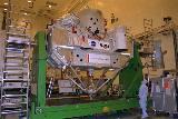 Příprava palety CRISTA-SPAS-2 na KSC