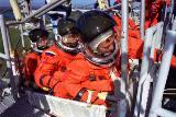 Nácvik nouzového opuštění raketoplánu při TCDT (10.01.1998)