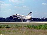 Přistání STS-91 na KSC (12.06.1998)