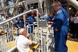 Posádka STS-91 při TCDT (08.05.1998)