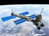 Kresba ISS po připojení Z1 a PMA-3