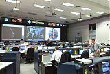 Řídicí středisko MCC v Houstonu před startem STS-92 (11.10.2000)