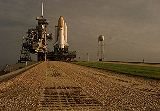 STS-95 po převozu na rampu LC-39B (21.09.1998)