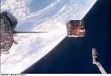 Uvolnění observatoře Spartan 201 k volnému letu (01.11.1998)