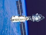 ISS při odletu STS-96 (03.06.1999)