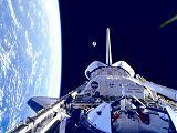 Vypuštění družice STARSHINE z nákladového prostoru (05.06.1999)