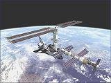 Kresba plánované sestavy ISS / STS-97 (2000)
