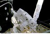 Noriega při EVA-3 (07.12.2000)
