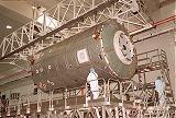 Předstartovní příprava modulu Destiny (21.12.2000)