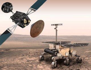 Kresba sond ExoMars (Credit: ESA/ATG medialab)