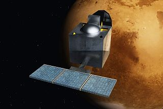 Mars Orbiter Mission - Indie - ArtistsConcept by Nesnad - Own work. Licensed under GFDL via Wikimedia Commons