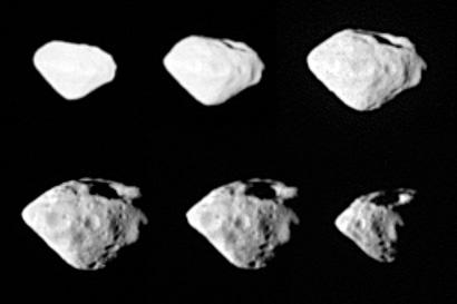 Snímky planetky 2867 Šteins (05.09.2008)