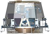 Schéma Impactoru sondy Deep Impact