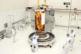 Příprava sondy MESSENGER ke startu