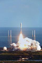 Start sondy New Horizons z CC raketou Atlas 551 (19.01.2006)