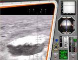 Ukázka výhledu z kokpitu Eaglu při přistávání