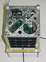 Prototyp našeho CubeSatu na schůzce 10.9.2005