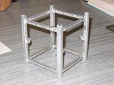 Holá kostra našeho prototypu CubeSatu (19.11.2005)